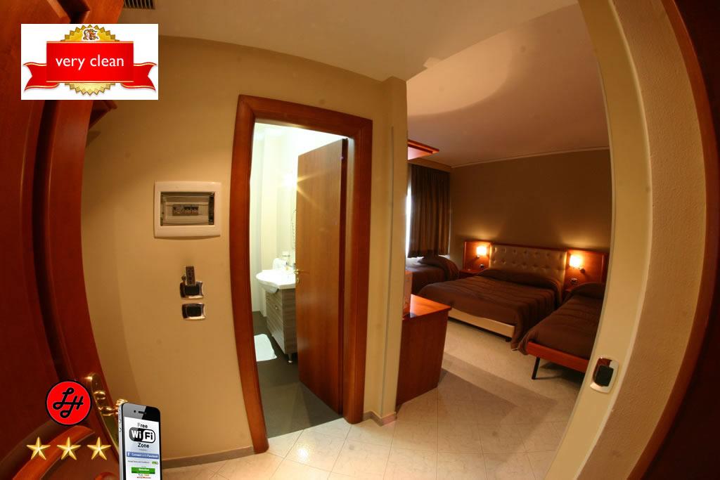 Luxor Hotel Quad Room